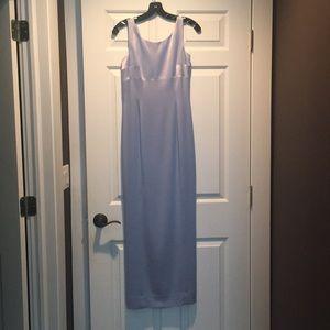 Dress gown maxi